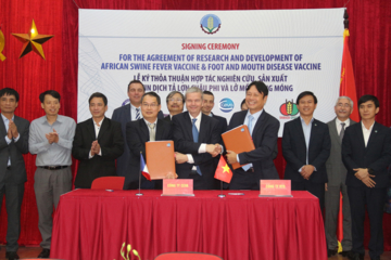 Ceva commits to helping improve preventative health strategies for Vietnam's rapidly growing livestock sector