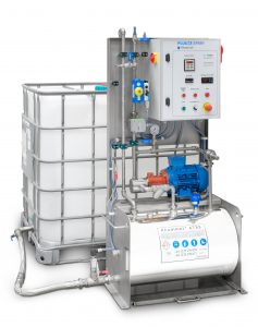 PLUG&SPRAY: A SPECIFIC EQUIPMENT TO APPLY RHODIMET® AT88 FOR MEDIUM SIZED FEED MILLS MIDDLE EAST, AFRICA AND EUROPE