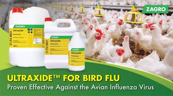 Ultraxide™ Disinfectant Against Bird Flu