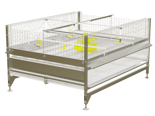 Poultry Equipment 3to1 with Automated Depopulation System